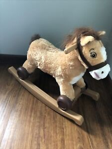 Rockin' Rider Charger  2-in-1 Pony Ride-On Toy Rocking Horse
