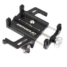 Aluminum Motocycle Bicycle Phone Mount Stand Holder Bracket For Mobile Phone