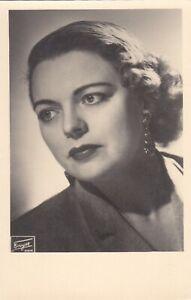 OPERA SINGER PHOTO/POSTCARD OF Martha Mödl soprano portrait - Fayer