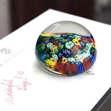 Murano Vetreria Fiori Collectable Glass Paper Weight