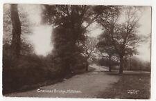Cranmer Bridge Mitcham Surrey 1913 RP Postcard Kenyon