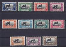 ST. PIERE & MIQUELON 1932, DOG, TAXE 21-31, COMPLETE SET, MLH