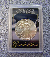 2018 American Eagle Silver Dollar & Graduation Case #1
