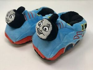 THOMAS THE TRAIN Plush Slippers Toddler Boys & Girls Size Small-3/4 NEW (Y3)