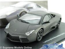 LAMBORGHINI REVENTON MODEL CAR 1:43 SCALE MATT BLACK IXO SUPER 2007 SPORTS K8