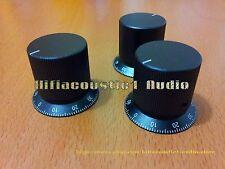 1x 28-36x30 Aluminum Volume Control KNOB Amplifier potentiometer HIFI 6mm