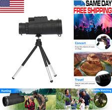 40X60 Zoom Optical HD Lens Monocular Telescope+ Tripod+ Clip for Smart Phone US