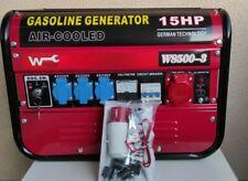 Benzin Generator W8500-3 Stromgenerator Notstromerzeuger Benzin Stromerzeuger??