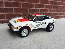Vintage 1/10 Cox Hobbies Ultra Stock Toyota Supra. Kyosho Scorpion, Icarus Rare!