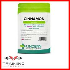 Lindens Cinnamon 2000mg 100 Tablets Slimming Weight Loss Digestion