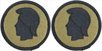 2 Pack U.S. Army Hawaii National Guard OCP Hook Military Patches