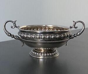 Antike Kaviarschale aus 800er Silber