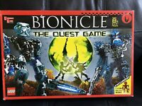 LEGO Bionicle The Quest Game #1754 Complete in Box 6 Exclusive Tia Inika Figures