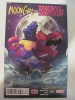 Moon Girl and Devil Dinosaur #7 Marvel 2016 Series 1st Print 9.6 Near Mint+