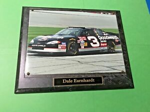 Nascar DALE EARNHARDT 8x11 Mounted Photo Chevy Monte Carlo Goodwrench Race Car