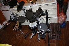 More details for roland drum kit td-6v including kd-8 stool sticks sennheiser hd 202 mapex pedal