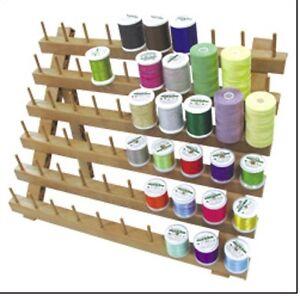 Sew Mate Premium 60 Peg Spool holder Sewing Thread Rack Organizer/Storage Stand
