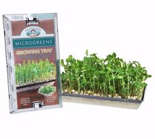 Mr Fothergill's MICROGREENS GROWING TRAY Add Seeds & Water, Easy Use *Aust Brand