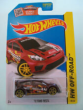 Hot Wheels 2015 HW Off-Road - '12 FORD FIESTA #78/250 - New in Packet
