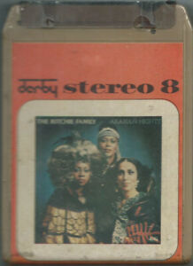 STEREO 8 TAPE THE RITCHIE FAMILY Arabian nights (Derby 76 ITALY) disco SEALED!