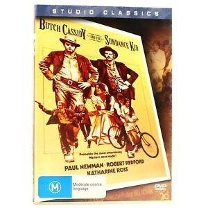 Butch Cassidy & The Sundance Kid Paul Newman DVD R4 Good Condition