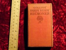 Collin's Handy Ready Reckoner (hardcover)