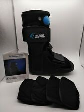 United Ortho Air Cam Walker Fracture Boot, XSmall, Black