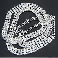 Hot Sexy Shiny Tribal Belly Chain Chains Body Jewelry Crystal Rhinestone Belt