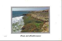 CARTOLINA SICILIA SICILY POSTCARD SAMPIERI  COSTA MARE SPIAGGIA SEA SCICLI