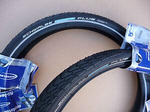 Pair of Schwalbe Marathon Plus 20x1.75 (47-406) Bicycle Tyres Bike BMX cycle NEW