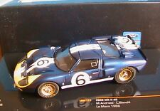 FORD GT40 MKII #6 24 HEURES LE MANS 1966 ANDRETTI BIANCHI IXO LMC111 1/43