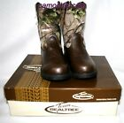 REALTREE AP CAMOUFLAGE YOUTH COWBOY BOOTS DUSTIN JR. -LICENSED CAMO, COWBOY BOYS