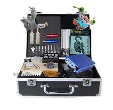 New Tatoo set tattoo machine kit all equipment with mini power supply