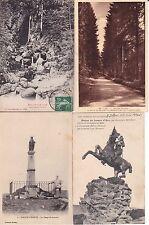 Lot de 4 cartes postales anciennes BALLON D'ALSACE 6