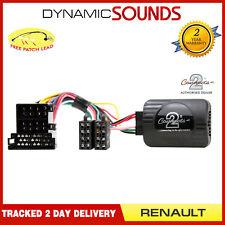 Steering Wheel Stalk Control Interface Adaptor Lead For RENAULT Megane 2000-2005