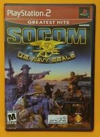 SOCOM US Navy Seals PS2 Playstation 2 COMPLETE Game 1 Owner  Mint Disc