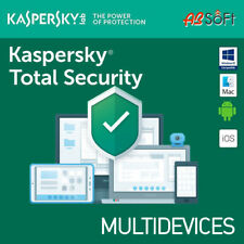 Kaspersky Total Security KL1949G5CFS-9 (3 Licenze, 1 Anno)