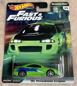 Hot Wheels Fast & Furious Original Fast '95 Mitsubishi Eclipse