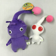 New Pikmin Plushies Doll Set of 2 Purple/White Bud STUFFED ANIMAL TOY