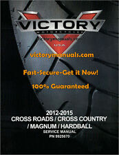 2012-15-16 Victory Cross Country-Roads-Magnum-Hardball--Judge Service Manual-CD