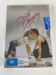 Dirty Dancing (DVD, 2002) Region 4 With Patrick Swayze In metal slipcover