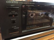 Vintage ONKYO TA-2028 Cassette Deck Player In Working Condition.