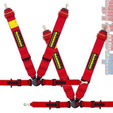 2x schroth pro II-fe ASM ceinture de sport rouge Gauche & Droit avec schraubbeschlägen