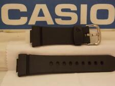 Casio Watch Band BG-6903, BGD-140 Baby-G Black Resin Watchband. Strap