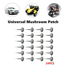 24x Durable Car Tire Tyre Puncture Repair Wired 6mm Plug Rubber Mushroom Patch
