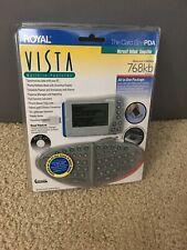 Royal Vista Card Size PDA W/detachable Keyboard SEALED FREE SHIPPING!!!!!!!