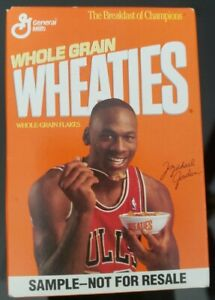 Michael Jordan Chicago Bulls NBA Collectible Wheaties Mini New Cereal Box MINT