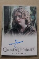 GAME OF THRONES SEASON 7 - TRADING CARD EROS VLAHOS AUTOGRAPH CARD