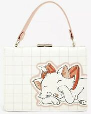 NWT LOUNGEFLY DISNEY MARIE ARISTOCATS PURSE PINK WHITE SOLD OUT