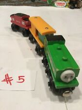 DUCK~BOX CAR~CABOOSE~Thomas The Train And Friends Wooden Railway Train